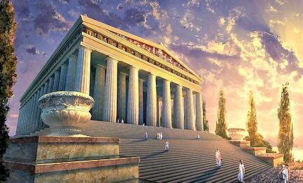 Ο ναός της Αρτέμιδος στην Έφεσο