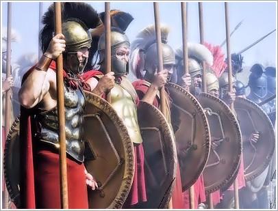 Αθηναίοι Στρατιώτες στο νησί της Σάμου