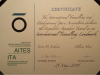 INTERNATIONAL TUNNELLING LANDMARK certificate by ITA - AITES