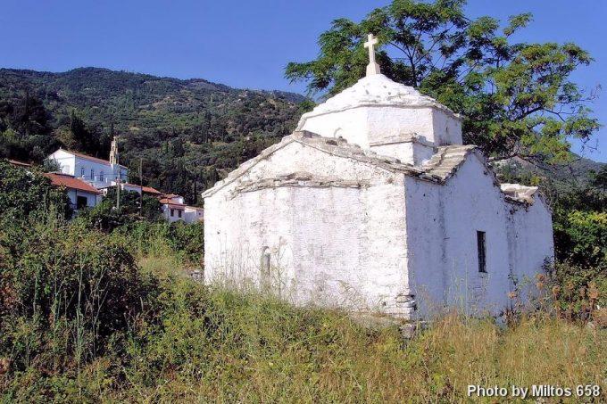 Βόρειο ανατολική τμήμα του ναού