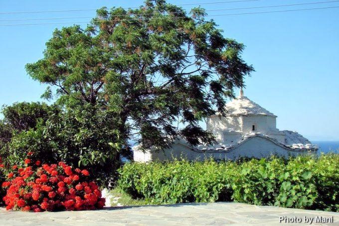 Νότιο δυτικό τμήμα του ναού