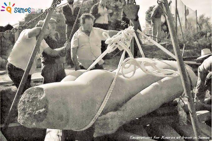 Ανασκαφές για τον Κούρο στο Ηραίον στη Σάμο