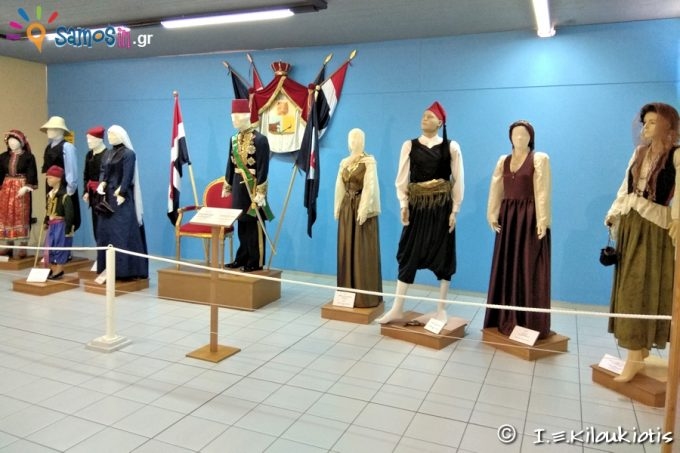 Samian traditional costumes department