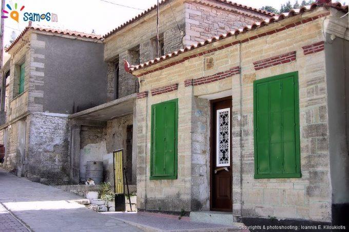 Agii theodori village neighborhood