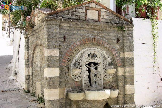 Agii theodori village public fount