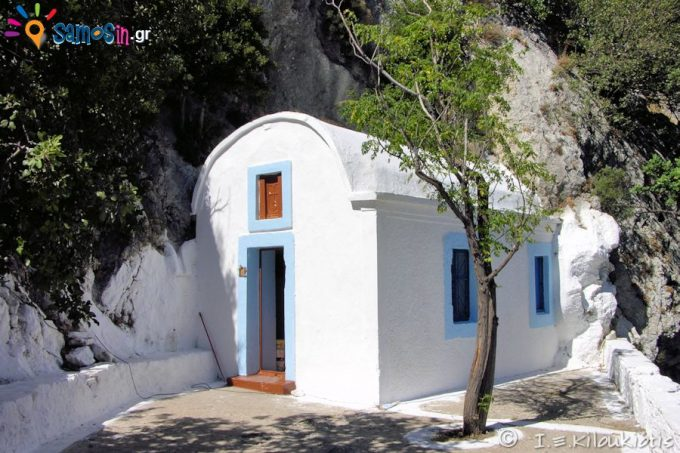Agios Ioannis the Theologos Chapel of  in Kerkis