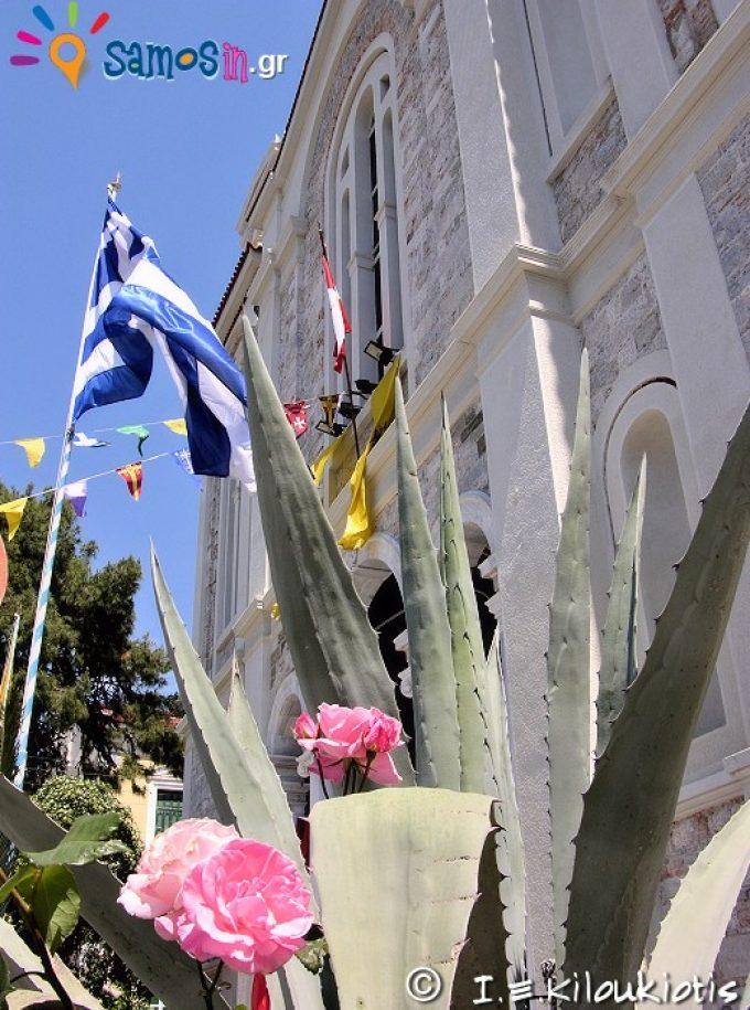 Άγιος Σπυρίδωνας εξωτερική άποψη