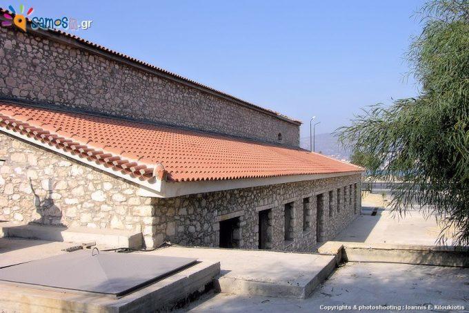 Μουσείο Σαμιακού Οίνου, πανοραμική εικόνα