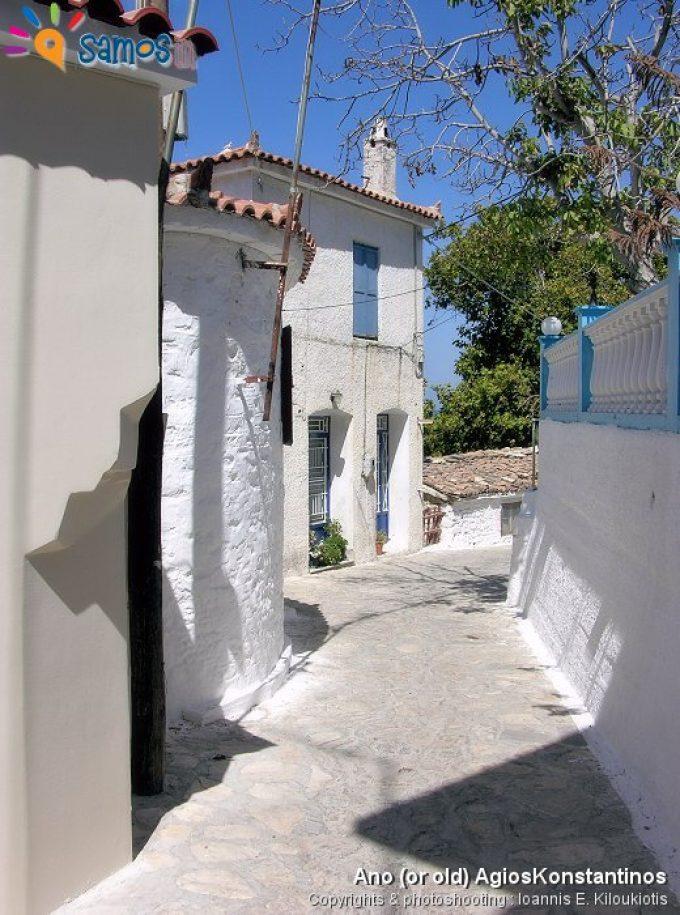 γειτονιά στον πάνω (ή παλαιός) Αγίο Κωνσταντίνο