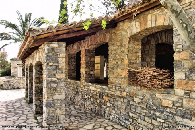 Tourist village,  a veritable outdoor museum of Samos architecture