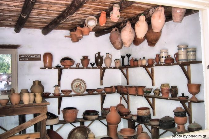 Potter, at Folklore Museum of the N.Dimitriou