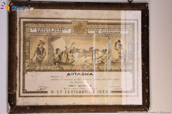 Μουσείο Βυρσοδεψίας Καρλοβάσου, εκθέματα