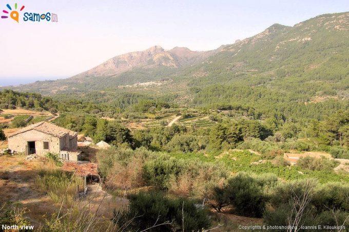Κοντέικα, θέα απο το χωριό