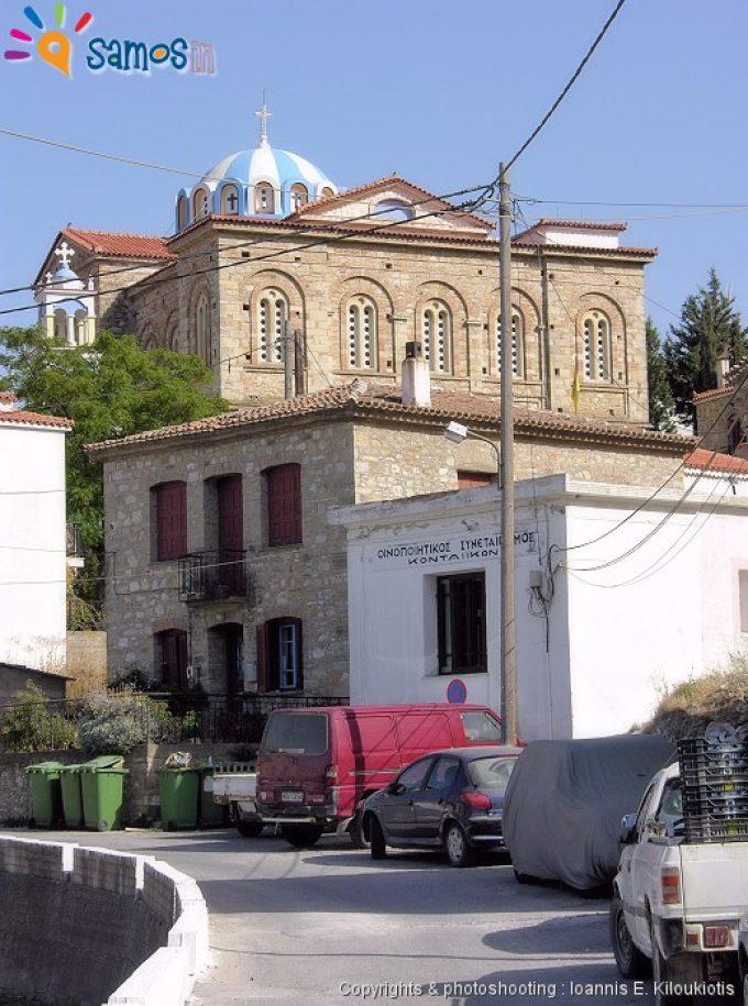 Κοντέικα, η εκκλησία του χωριού