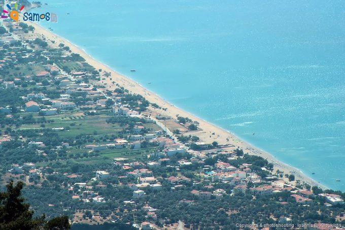 Κάμπος Μαραθοκάμπου, πανοραμική άποψη