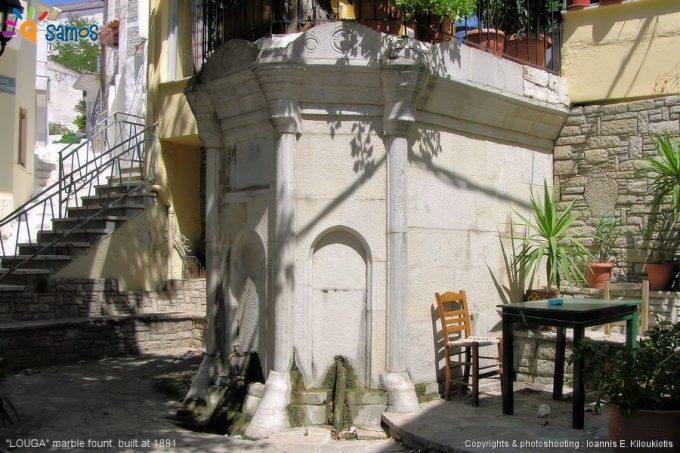 Μαραθόκαμπος, η δημόσια βρύση της Λούγκας