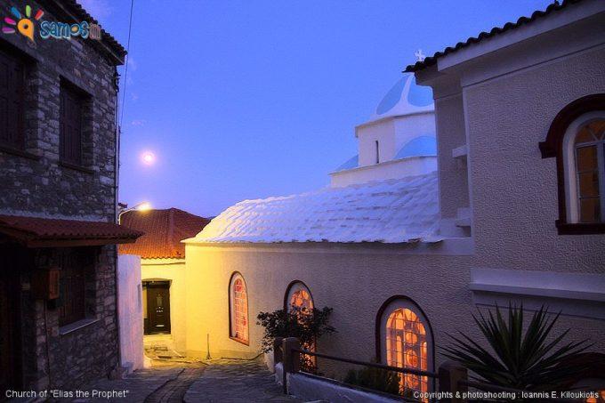 Μαραθόκαμπος, ενοριακή εκκλησία του προφήτη Ηλία