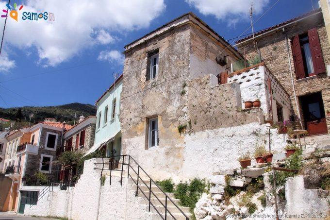 Μαραθόκαμπος γειτονιά του χωριού