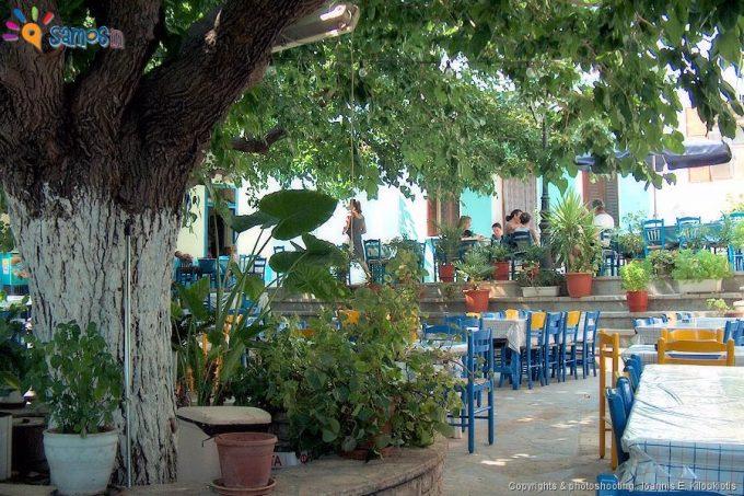 Mili village square