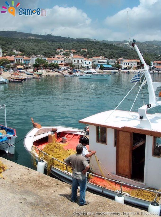 Όρμος Μαραθοκάμπου, πανοραμική άποψη, το λιμάνι