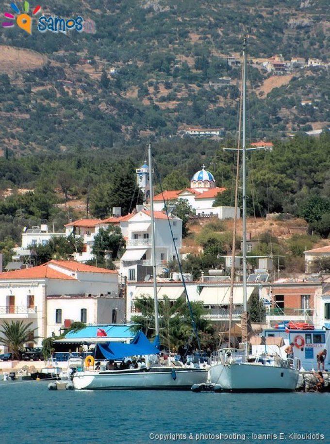 Όρμος Μαραθοκάμπου, το λιμάνι