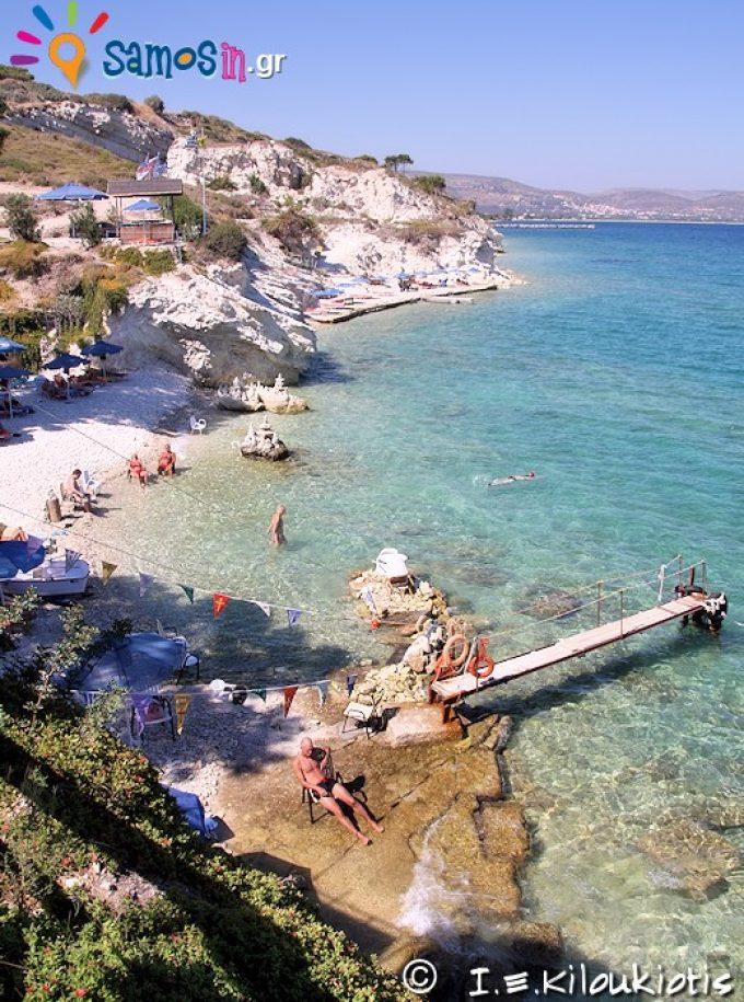 παραλία Παπά ή Άσπρος Κάβος