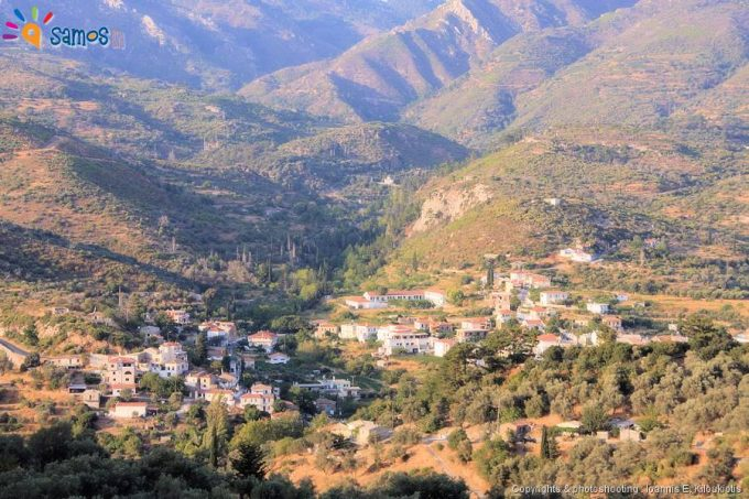Pirgos village overview