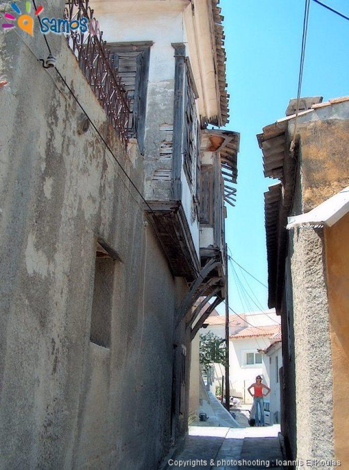 Μυτιληνιοί γειτονιά του χωριού
