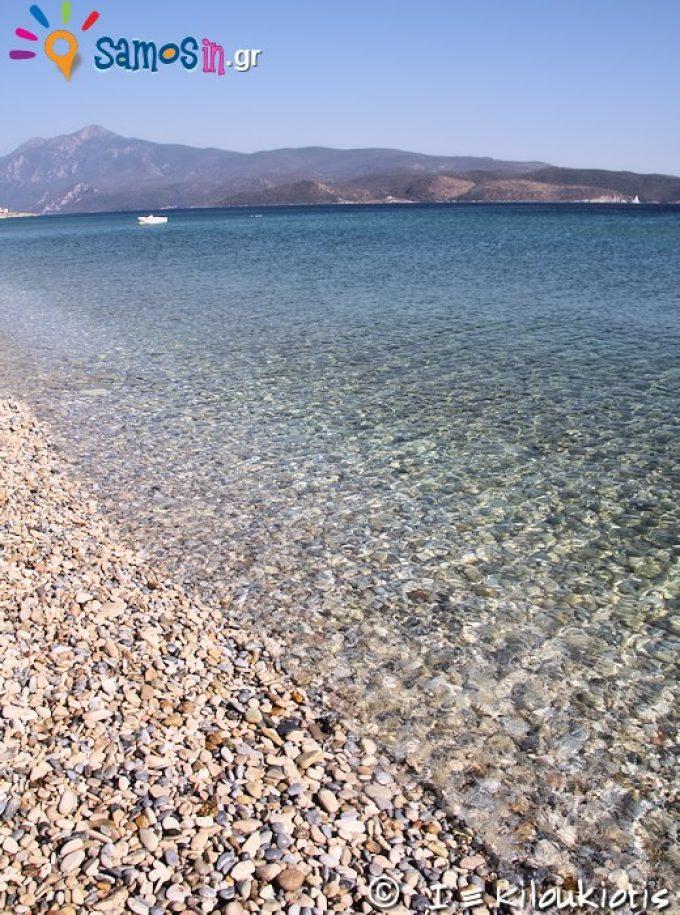 παραλία Μυκάλη στην Σάμο