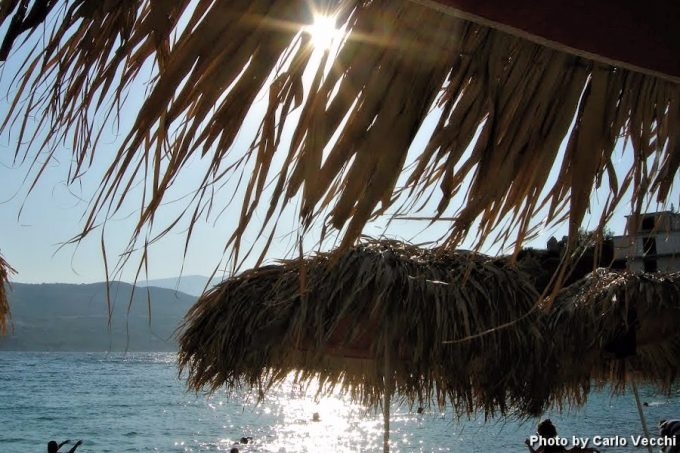παραλία Γάγκου στη Σάμο