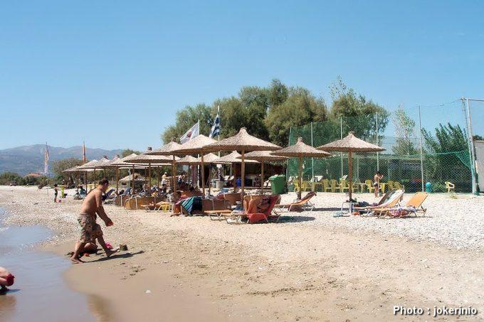 παραλία Ποτοκάκι στην Σάμο