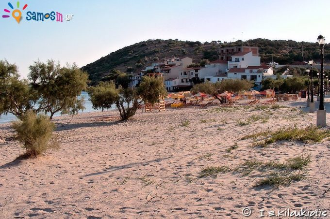 παραλία Ψιλή Άμμος στην Σάμο