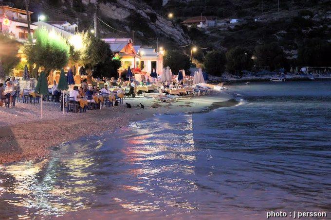 παραλία Ρεματάκι στο πυθαγόρειο Σάμου