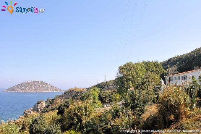 Zoodochos Pigi metochi at Kotsikas Samos