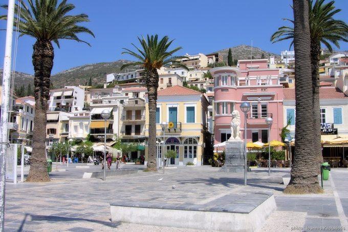Σάμος, η πλατεία