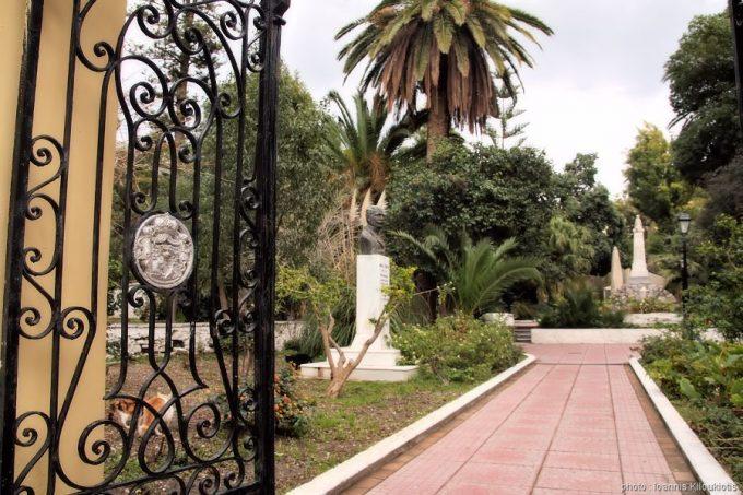 Σάμος, ο Δημοτικός (ή Ηγεμονικός) κήπος