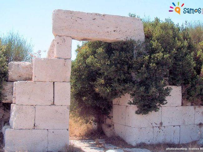 Οχυρωματικό τείχος αρχαίας Σάμου