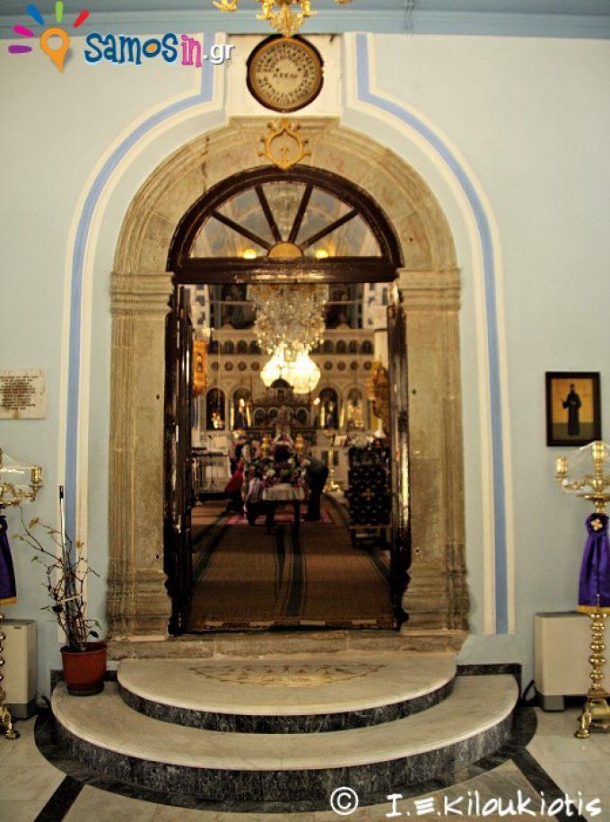 Άγιος Ιωάννης ο Πρόδρομος, Εσωτερικό του ναού