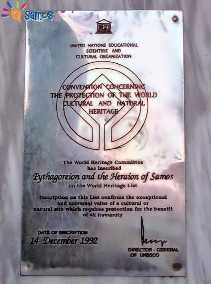 Μνημείο Παγκόσμιας Κληρονομιάς της UNESCO απο το 1992