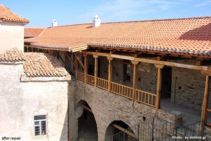 Το μοναστήρι Παναγία βροντά μετά την επισκευή