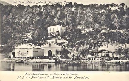 John Nicolareizis winery at Samos