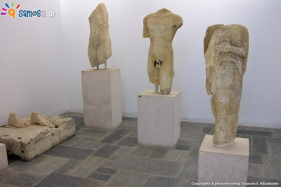 Archaeological Museum of Samos in Samos island