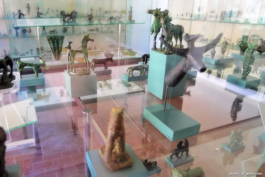 Archaeological Museum of Samos in Samos island