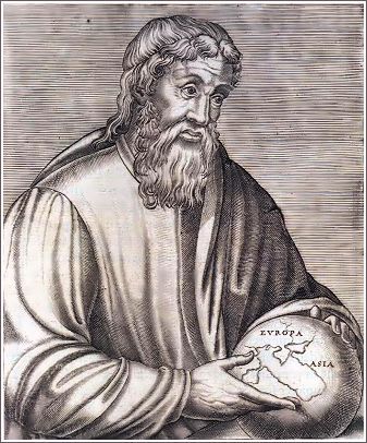 Strabo  Greek geographer, philosopher, and historian